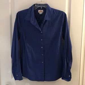 JCrew Royal Blue Size Medium LS Button Down